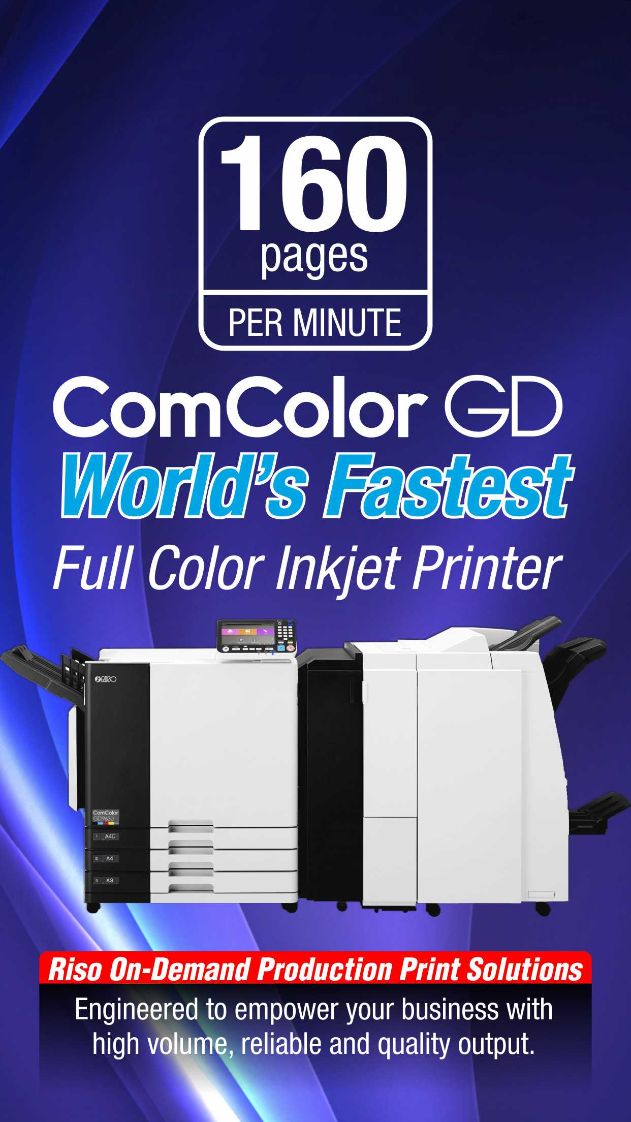 Riso High Speed Inkjet Printer