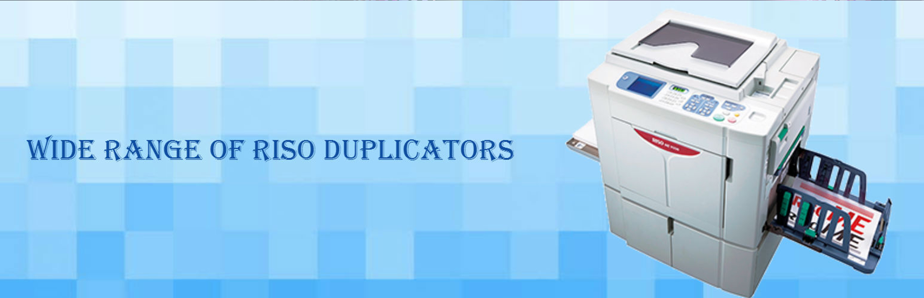 Riso Digital Duplicator