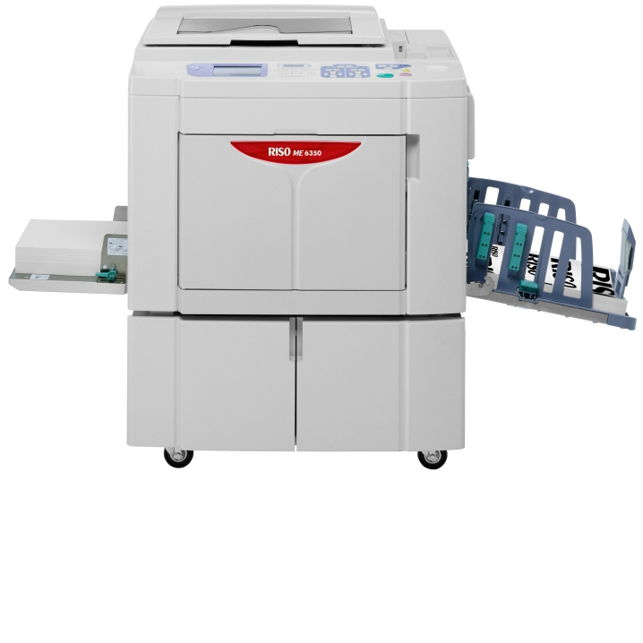 RISO ME6350 DUAL COLOR DIGITAL DUPLICATOR