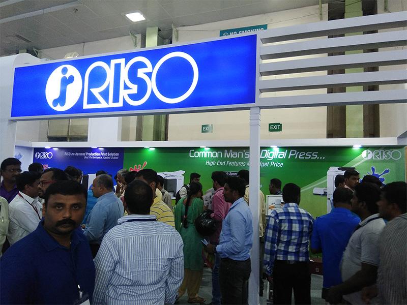 Riso India in PrintExpo 2017