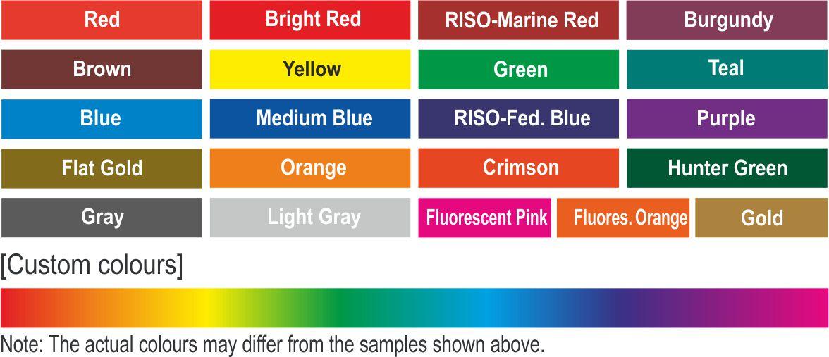 Riso Color Platte