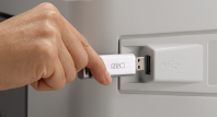 Direct printing with a USB flash drive