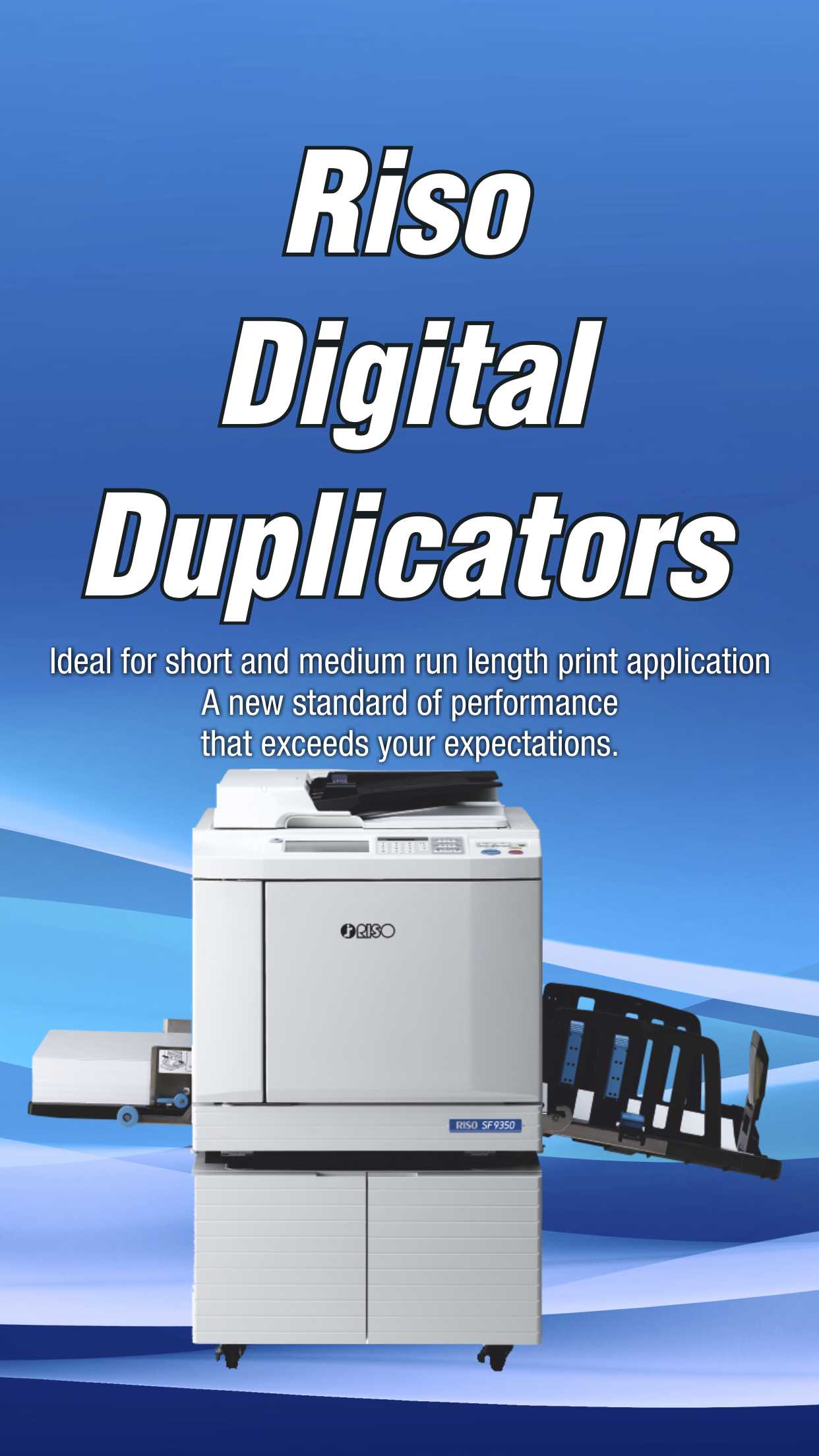 Riso Digital Duplicator Printer