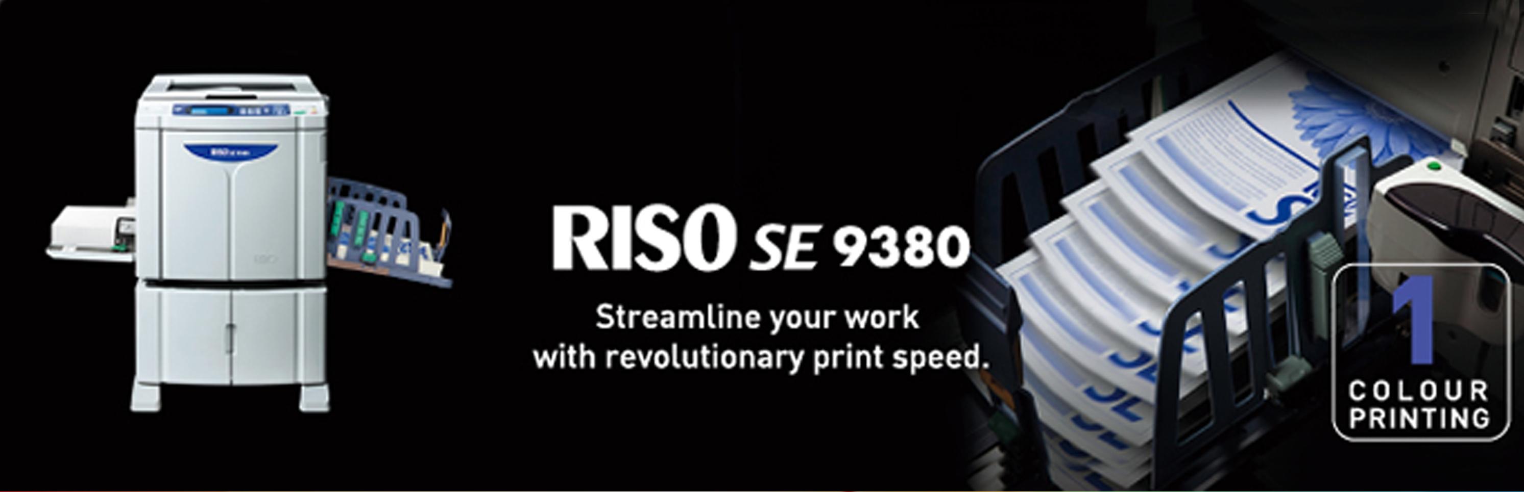 Riso SE 9380 Digital Duplicator Printer