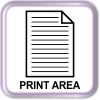 Print Area Icon