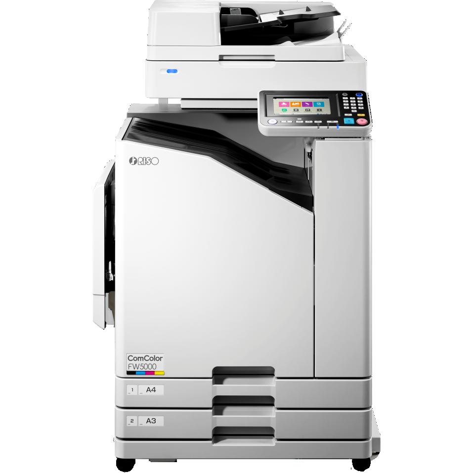 RISO FW 5000 90PPM INKJET PRINTER