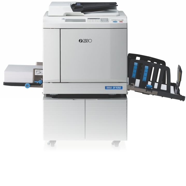 RISO SF9350 150PPM DIGITAL DUPLICATOR PRINTER